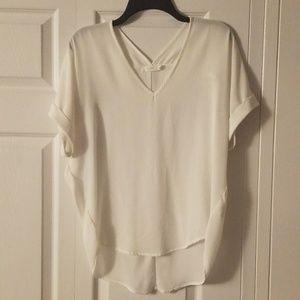 White dressy t-shirt